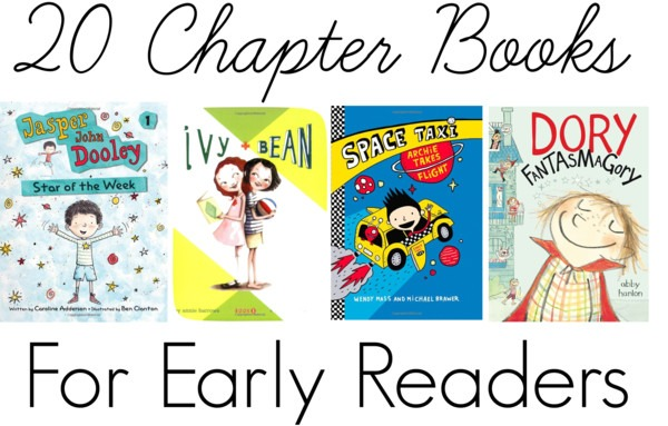 20 Chapter Books For Early Readers