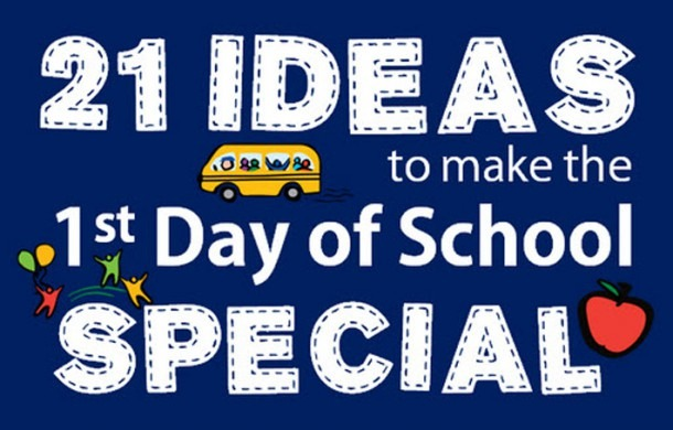 First Day Of Kindergarten Ideas & School Traditions
