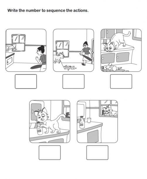 Picture Sequence Worksheet 12