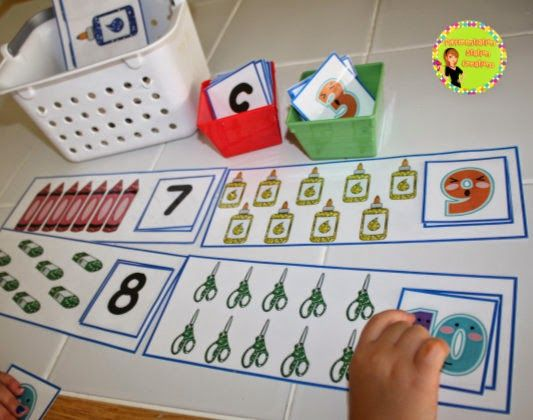 Back To School  Math Centers, Games, Printables, Posters