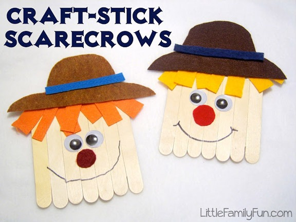 10 Scarecrow Crafts And Activities