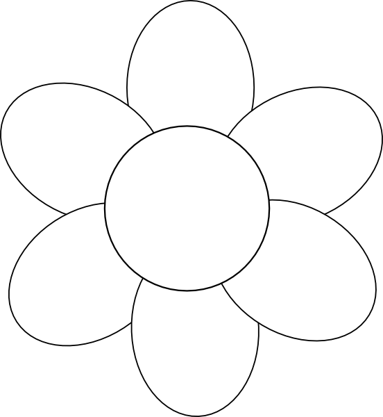 Flower Template Free Printable