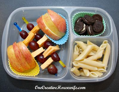 Kindergarten Lunch Box Ideas