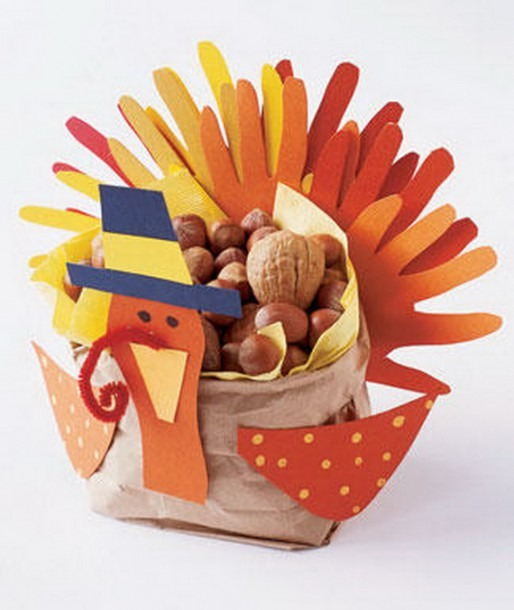 Thanksgiving Holiday Crafts Ideas
