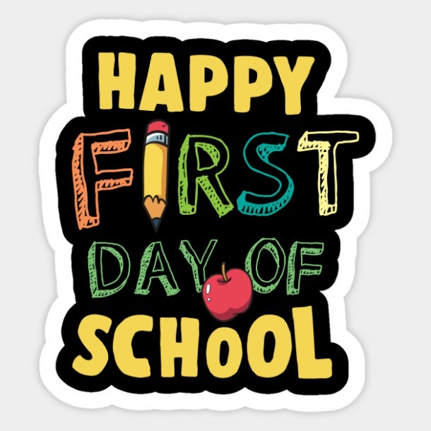 Happy First Day Of School Kindergarten Teachers Gift