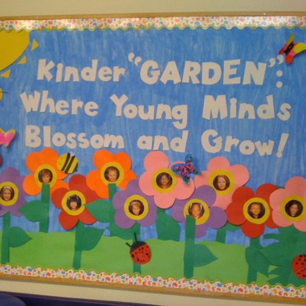 Kindergarten Bulletin Board  Would Be Good For May Board For The