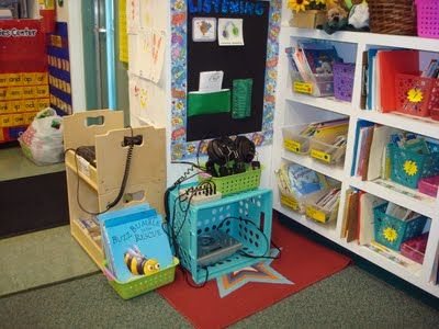 How To Organize Listening Stations (classroom Set Up Ideas