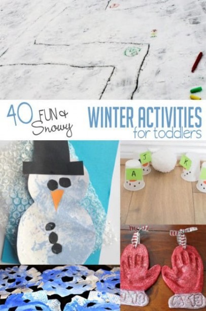 40 Winter Activities For Toddlers