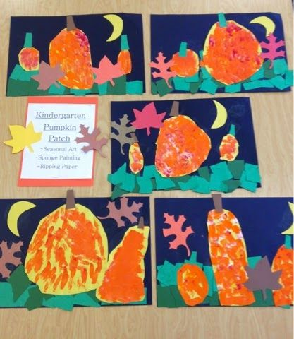 Kindergarten Pumpkin Patch