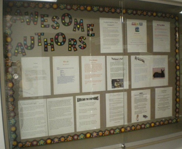 Writing Bulletin Board Idea   Maybe Display One From Each Grade