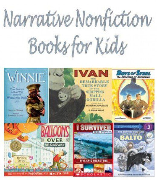 A Review Of The 37 Best Narrative Nonfiction Books For Kids
