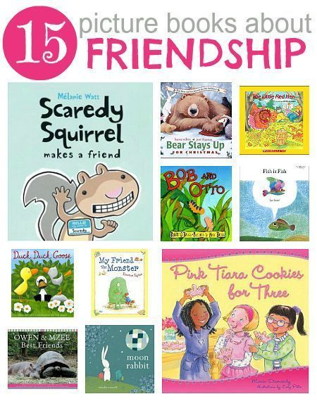 15 Picture Books About Friendship