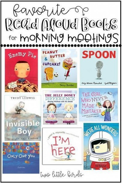 Favorite Read Aloud Books For Morning Meetings In Your Classroom
