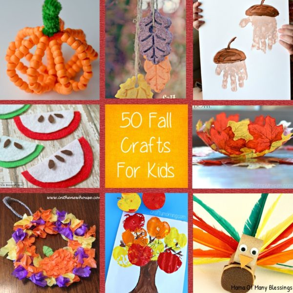 Kids Craft Ideas For Fall That Are Awesome, Quick, And Easy