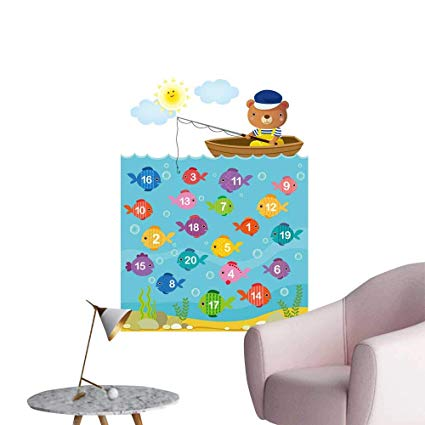 Amazon Com  Septsonne Wall Decoration Wall Stickers Worksheet For