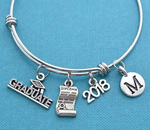 Amazon Com  Little Girl's Kindergarten Graduation Bangle Bracelet