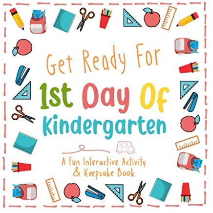 Get Ready For 1st Day Of Kindergarten  Make Your Own Keepsake Book