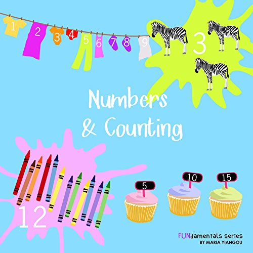 Numbers & Counting  Numbers & Counting Picture Book  Ages 2