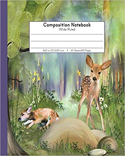 Composition Notebook Wide Ruled  Kindergarten To Early Childhood