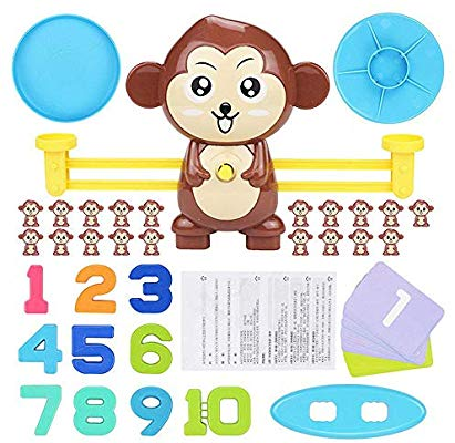 Ceepko Monkey Balance Counting Games, Digital Balance Scale For