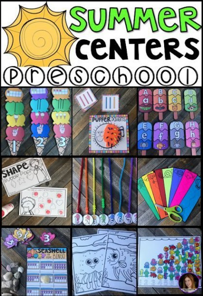 Summer Centers And Hands