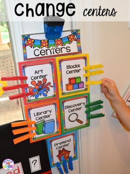 Center Time Management For Preschool And Pre