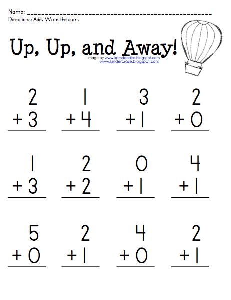 Free Addition Practice For Sums 0