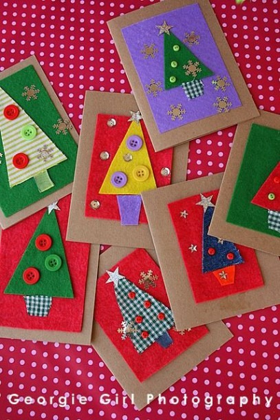 Make And Send Christmas Cards To Everyone You Love! Cute Cards For