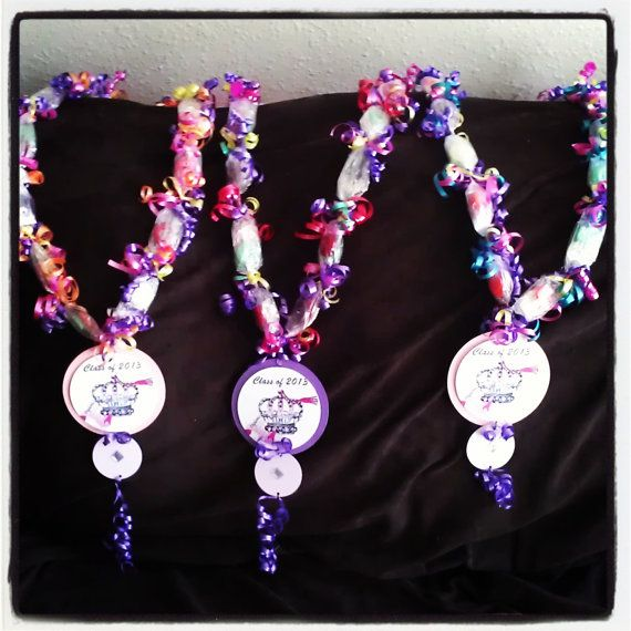 Candy Lei Candy Necklace By Handmadebyfanya On Etsy, $2 86
