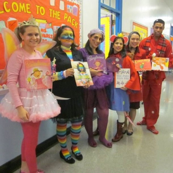 Kindergarten Team Halloween Costumes