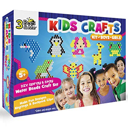 Amazon Com  3 Bees & Me Kids Crafts Kit For Boys & Girls Age 5 To
