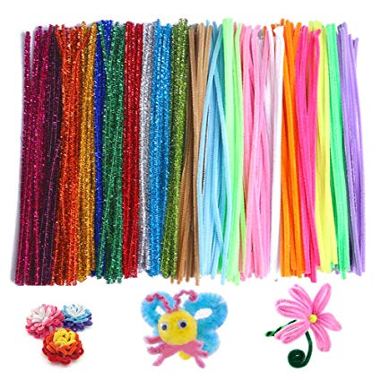 Amazon Com  Petift Pipe Cleaners Crafts Set,reusable Chenille Stem
