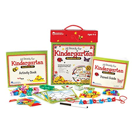 Amazon Com   Learning Resources All Ready For Kindergarten