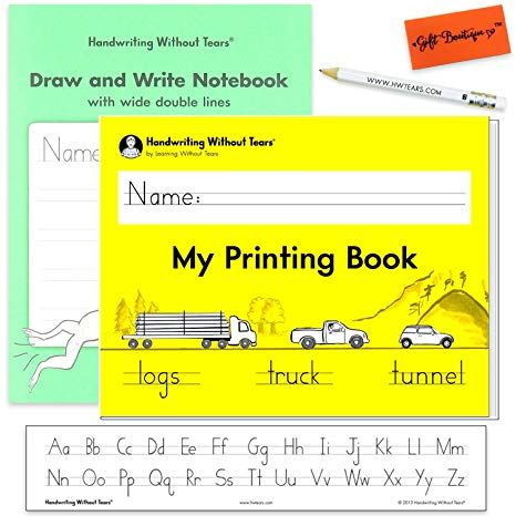 Amazon Com   Handwriting Without Tears My Printing Book