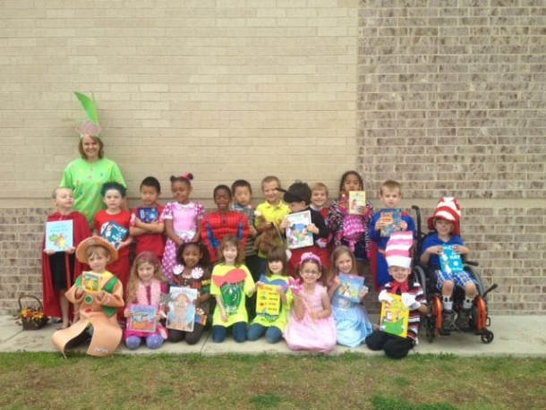 Mrs  Dindot's Kindergarten  Book Character Dress Up Day