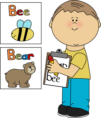 Clip Art Kindergarten Writing Vocabulary Clipart