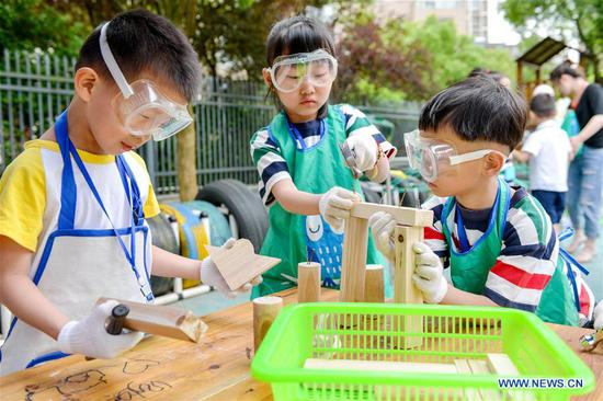 Children Across China Welcome Upcoming International Children's