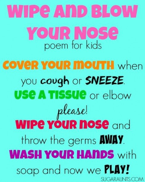 Teaching Kids To Stop Spreading Germs