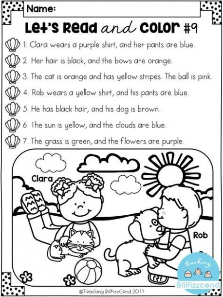 Free Reading Comprehension Activities