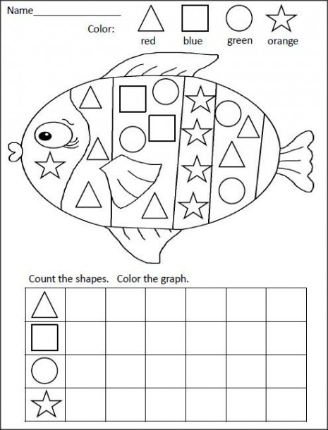 Shapes Graphing Activity
