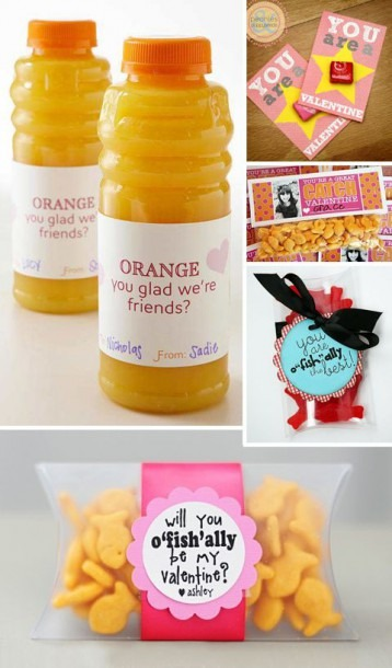 Cute Valentines And Little Gifts For Classmates