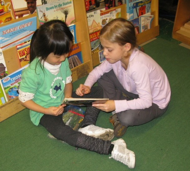 Kindergarten Reading Buddies Gallery