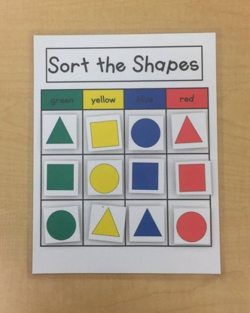 Sorting Shapes  Kids Games Puzzles  Learning Game Math Game