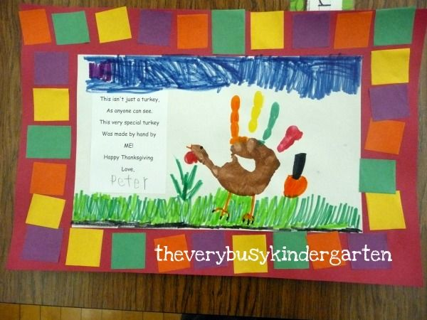 Thanksgiving Kids Projects On Pinterest