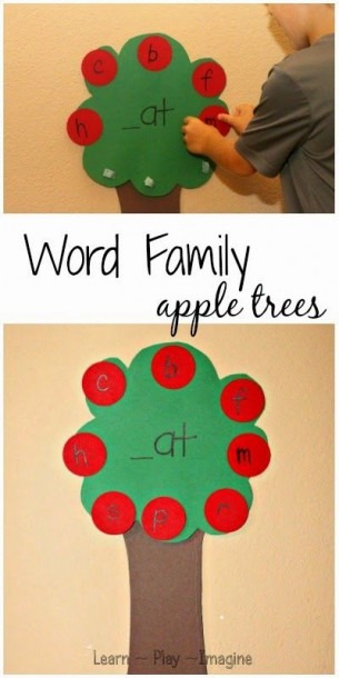 Apple Tree World Family Literacy Game (learn Play Imagine)