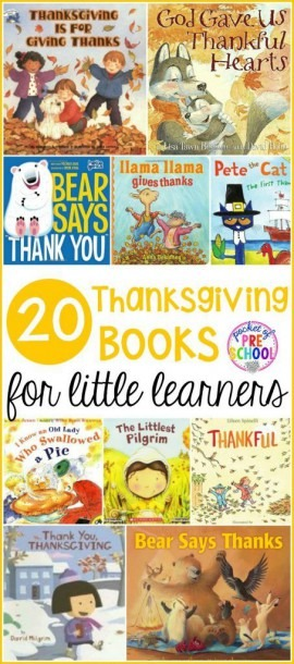 Thanksgiving Books For Little Learners