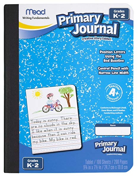 Amazon Com   Mead Primary Journal Creative Story Tablet, Grades K
