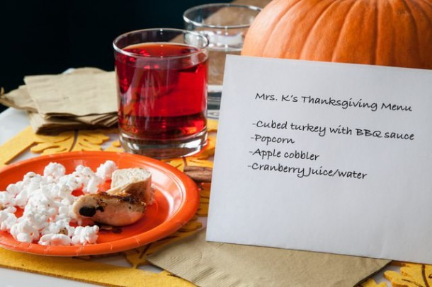 Kindergarten Thanksgiving Party Food Ideas (with Pictures)