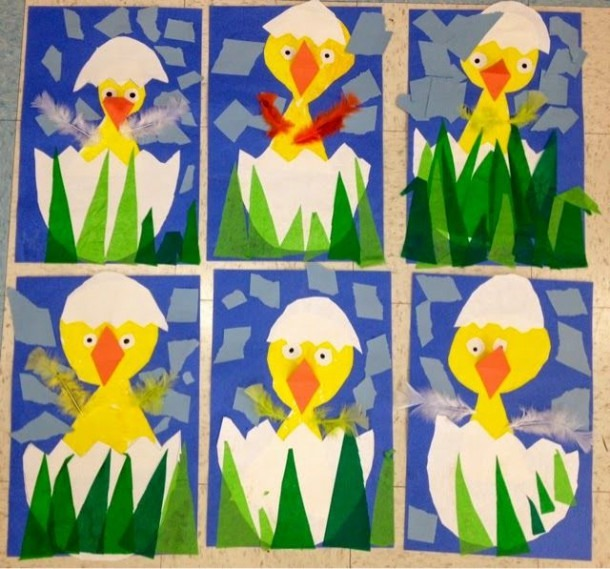 Art With Mr  Giannetto  Kindergarten Chicks