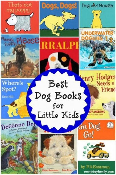 Best Dog Books For Toddlers & Preschoolers